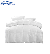 white goose duck down air conditioner duvet/quilt 150*220 mm or customized home hotel