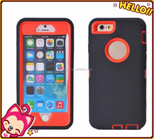 Hybrid Robot Combo case for iphone 6 plus