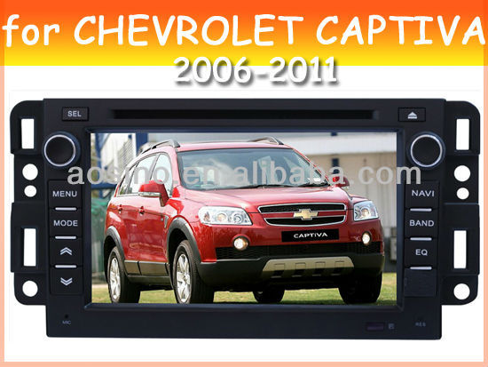 car audio car dvd gps player for CHEVROLET CAPTIVA 2006-2011 with radio gps navigation
