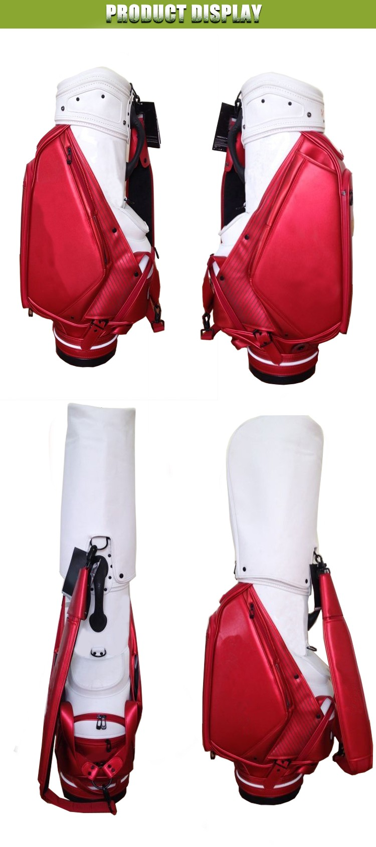 OEM/ODM Waterproof Custom Golf Bag PU leather Golf Cart Bag With Factory Price