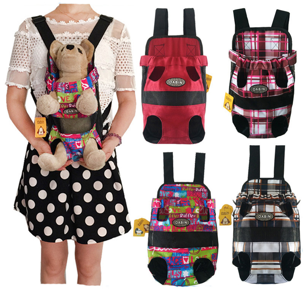 New Design Front Dog Travel Carriers Pet Backpack Carrier