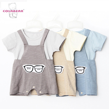Custom 100% cotton baby clothes romper suit comfortable baby clothing romper