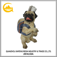 Hot New Product Resin Cute Puppy Statue