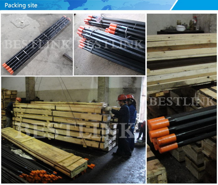 Mining use bench drilling drifter part top quality guide tube rod