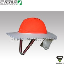ER9101 Sun protection cap Construction helmet Safety helmet