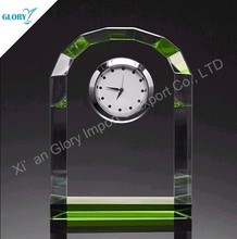 Wholesale Round Top Crystal Clock Birthday Souvenir