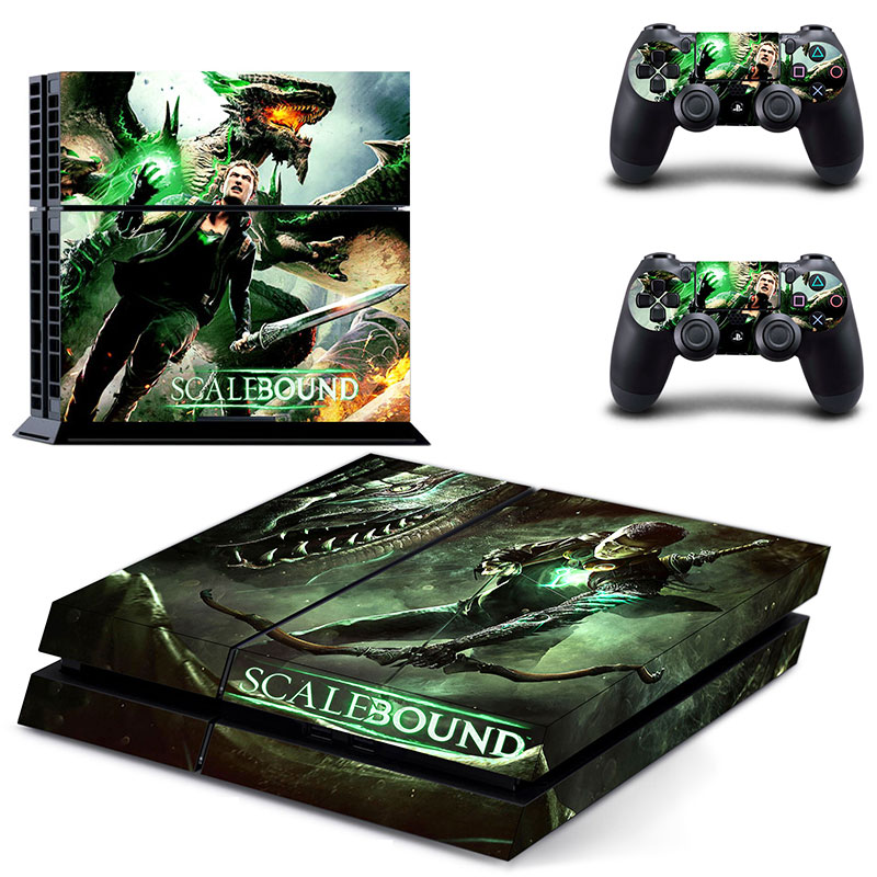 beatiful design for ps4 console sticker decal for ps4 skin sticker wholesale price