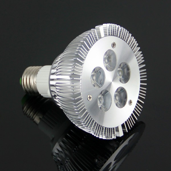 No Fan Led Grow Light , E27 5W Grow Light Led for Hydroponics