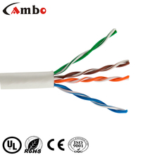 Fast and reliable connection CMR Cat 5 Ethernet Cable RJ45 24AWG 4PAIR