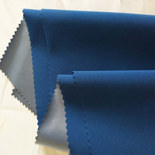 Polyester spandex 4 way stretch TPU membrane waterproof breathable fabric making for down jacket