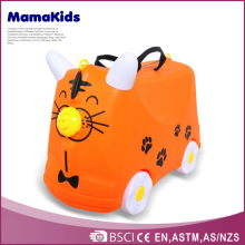 baby ride on suitcase kids plastic travel luggage lovely animal kids luggage