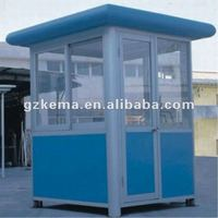 Security guard house in prefab houses