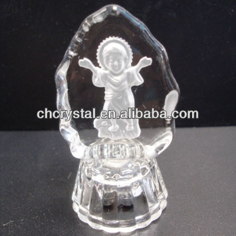 crystal baby shower favors , crystal baby baptism giftsMH-L0345