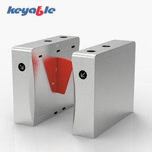automatic integration system durable barcode scanner flap barrier gate for public facility