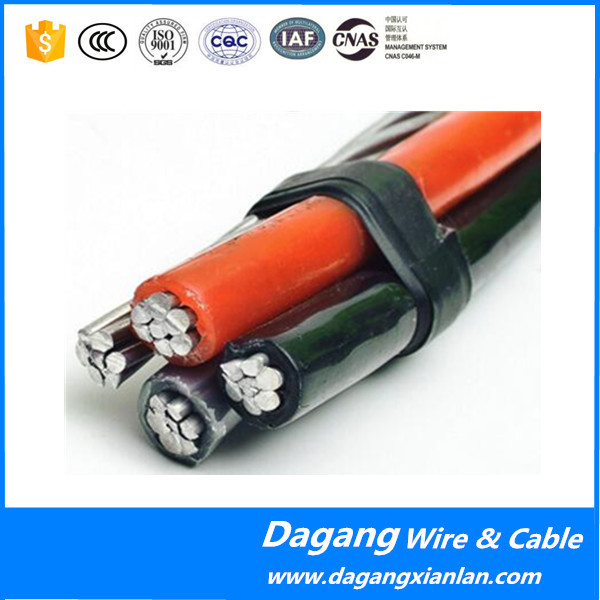 0.6 / 1kV 11kv, 33kv XLPE / PE Insulated Overhead Line Electric Transmission Aerial Bundled Cable Spacer ABC