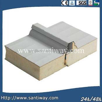 BEST PRICE FOR curved polyurethane sandwich roof panel