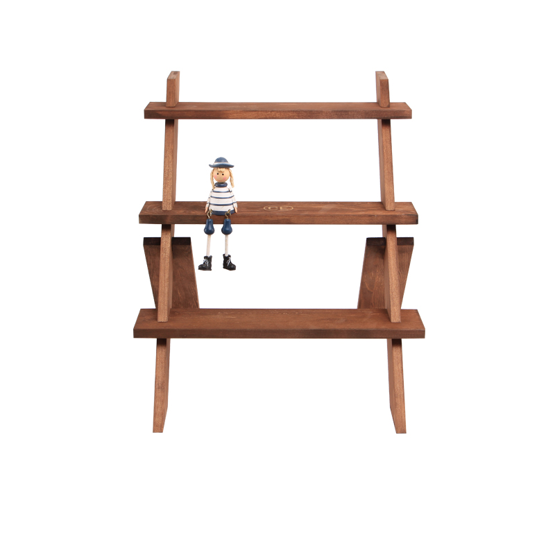 Manufacturer 3-Tier Portable Collapsible Display Riser Shelves