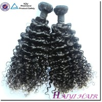 human hair weaving water curl good quality indian hair weave
