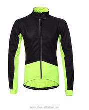 Full zip bike jacket long sleeve bicycle jersey men's cycling wear