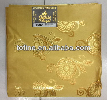 high quality fashion grand swiss headtie/african gele headtie