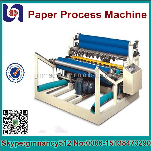 Full automatic paper narrow width rewinder and slitter machine China supplier,paper rewinding and slitting machine