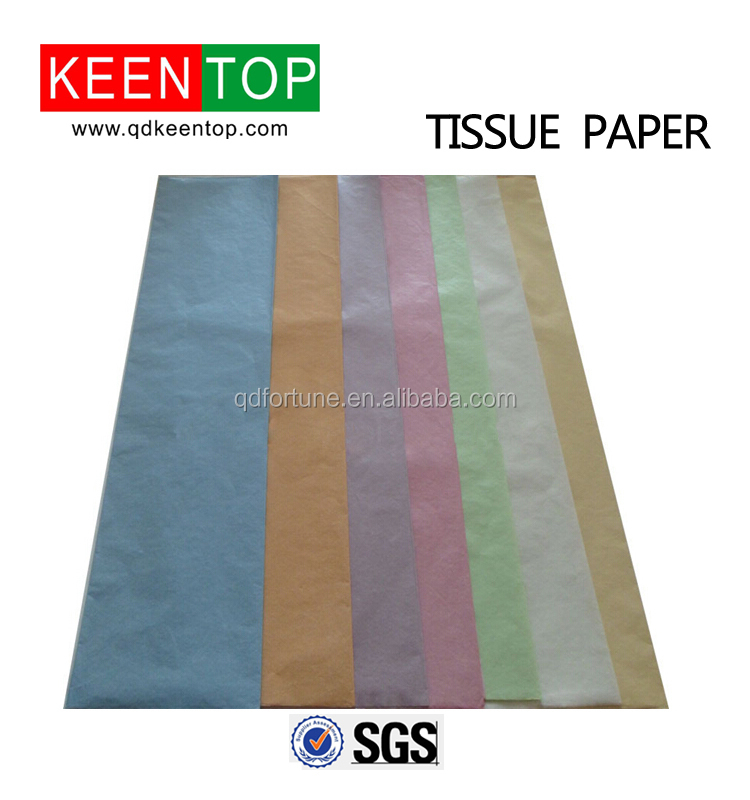 tissue paper glossy texture embossed pearl paper for gift box