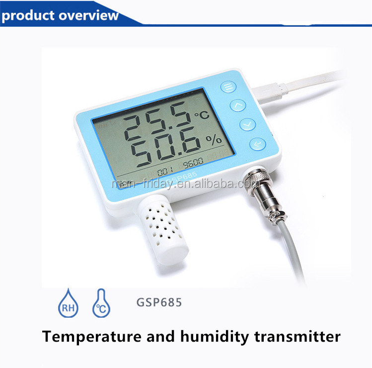 Utility GSP685 Digital Temperature and Humidity Transmitter With Display