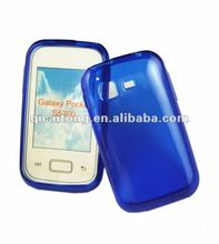 cellphone tpu case without texture for sumsung galaxy pocket S5300