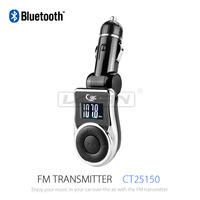 Wireless FM Music Transmitter with LCD Screen MP3 Player for Radio Station