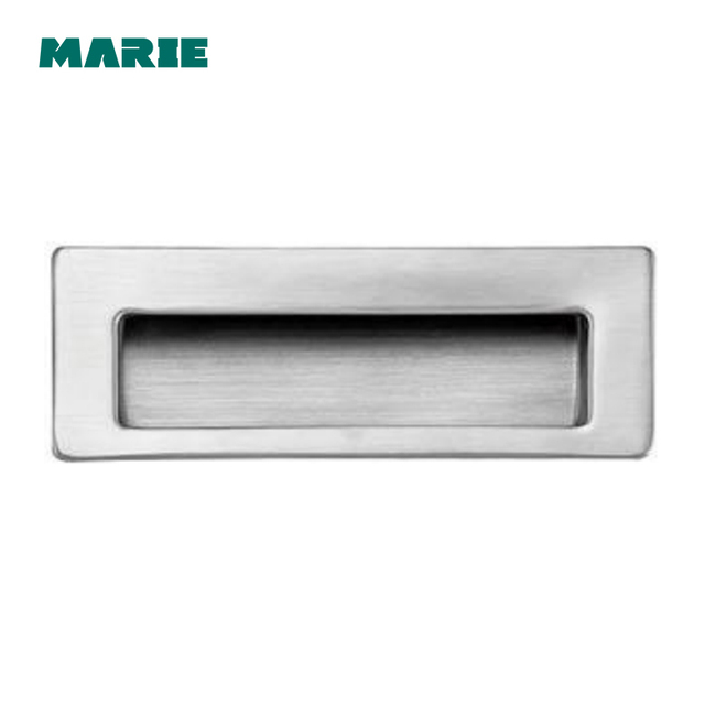 Square Stainless Steel Invisible Hidden Concealed Door Handle
