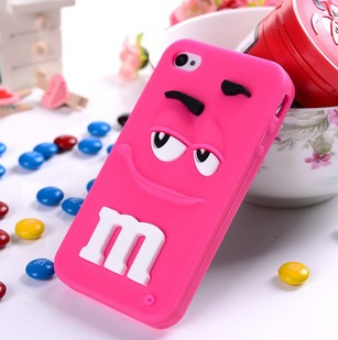 custom ecofriendly silicone cellphone cases for iphone5