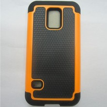Shockproof Rugged Matte Armour rigid plastic Silicone Rubber Hybrid Case Cover skin For Samsung Galaxy S5 Mini