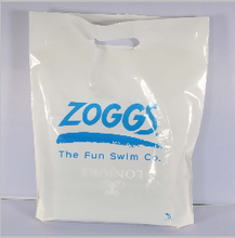 Handle and Accept Custom Order pe hd plastic shopping bags