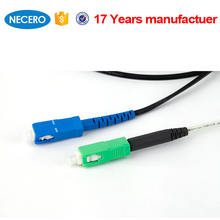 FRP Strength Member LSZH Outer sheath FTTH optical fiber drop cable
