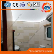 fashion beautiful pattern printed bathroom wall covering panels for stretch Ceiling & wall decoration ;2.35-3.2 M Width