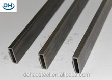 China manufacturer rectangular square mild steel hollow bar