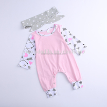 Wholesale New Born Baby Clothing Baby Toddler Clothing Organic Cotton Baby Romper