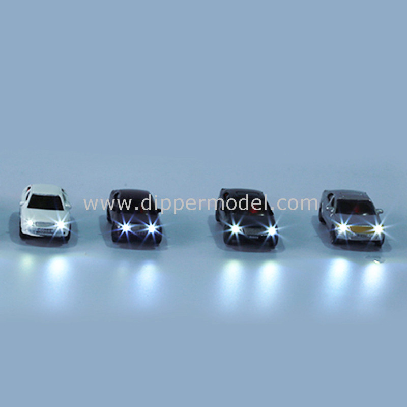 1:75 1:100 1:150 1:200 scale diecast miniature luminous architectural scale model car