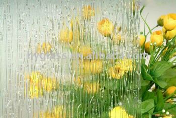 3mm-6mm rain patterned glass