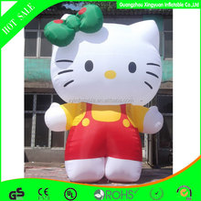 custom advertising giant inflatable hello kitty for sale
