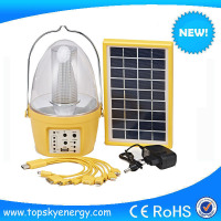 led rechargeable plastic solar lantern solar system with light