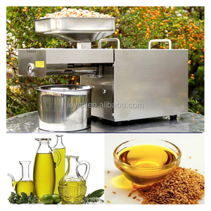 Automatic small home cold mini oil press machine for coconut