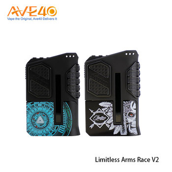 Alibaba Express New Products Box Mods Limitless Arms Race V2 Box Mod 200w for Wholesale