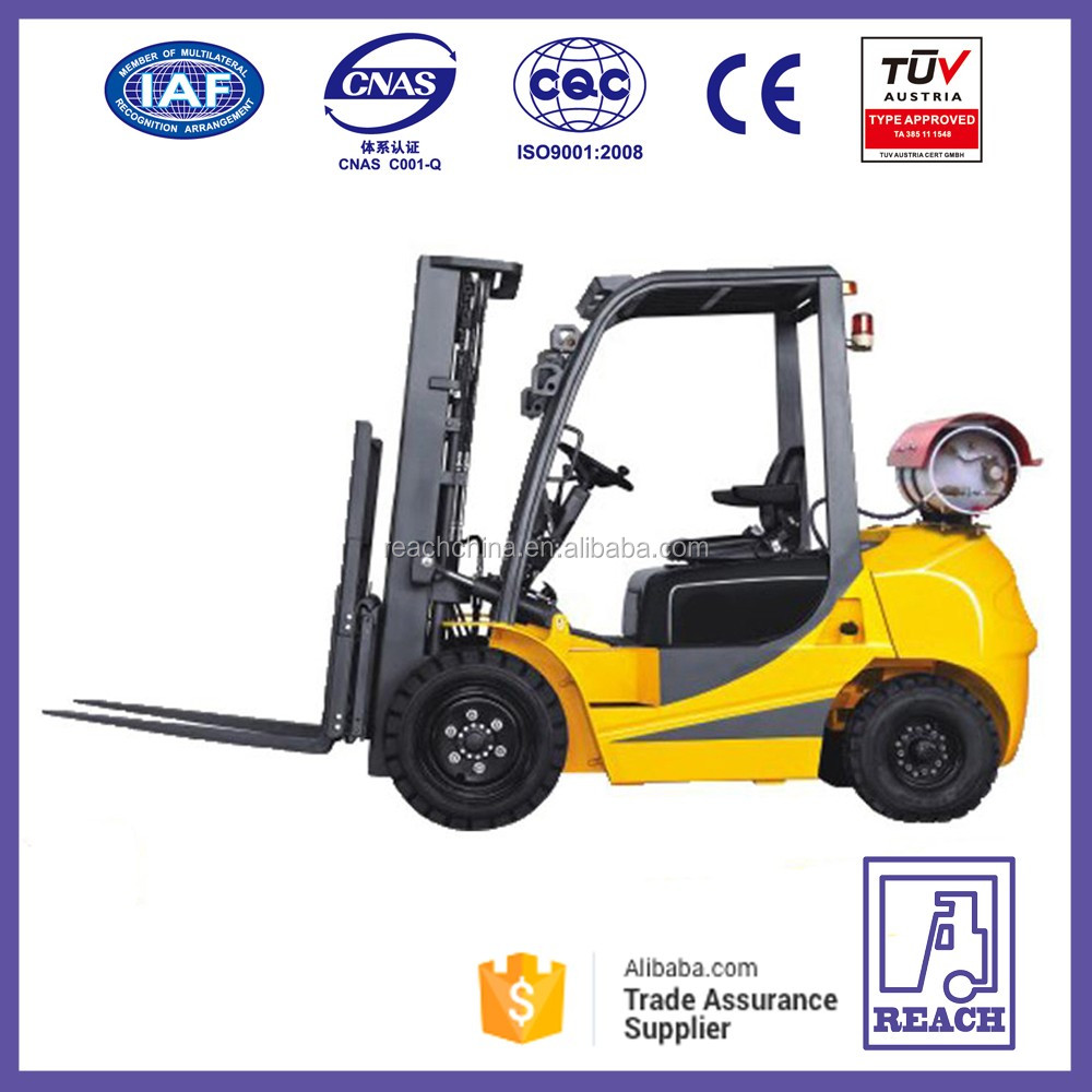 Cheap Price China 3 ton Mini LPG Hydraulic Cylinder Forklift Truck