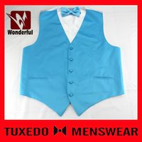 Super quality promotional men's fancy design your own vest