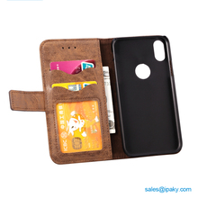 Ipaky Cell Mobile Phone Cover Oppo Cellphone Back Custom Wallet Leather Phone Case