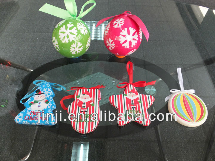 Hot Selling & New Design Plastic Christmas Ornaments Christmas Tree Decoration Christmas Gift