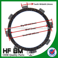 JY110 Motorcycle Clutch Plate, Motorcycle Friction Plate, Automatic Transmission Friction Plate JY110