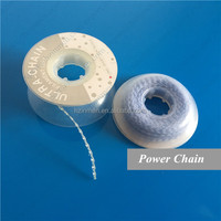 Dental orthodontic chain elastic
