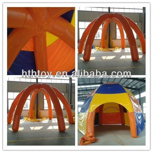 Customized inflatable dome tent for sale